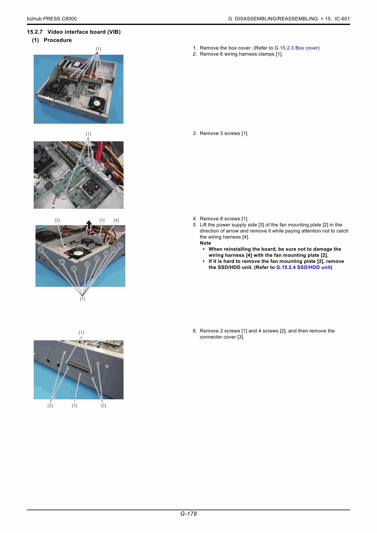 konica minolta bizhub service manual